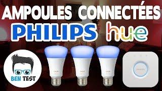 AMPOULES CONNECTÉES PHILIPS HUE V3 | Présentation et Test