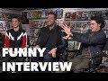 SHAZAM! Funny Interview: Zachary Levi, Jack Dylan Grazer, Asher Angel thumbnail