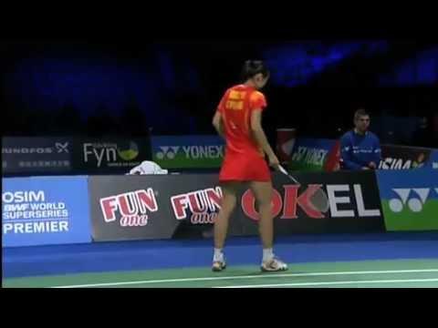 SF - WS - Saina Nehwal vs Wang Yihan - 2012 Yonex Denmark Open