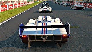 Gran Turismo Sport - Gameplay Porsche 962 C '88 @ Le Mans [1080p 60fps]