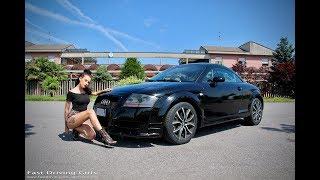 Fast Driving Girls - Fede test her Audi TT 8N Mk1 in heels and barefoot (V086)