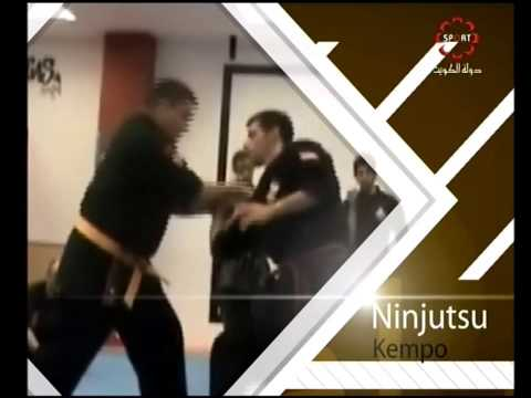 Part 1:Introduction - Kuwait Sports Channel Martial Arts Special w/ Sifu Khader Deng