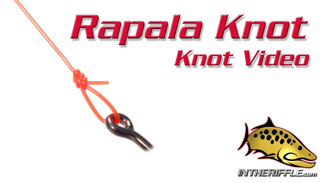 Rapala knot loop knot tying video fly fishing knots for 13 fishing a3