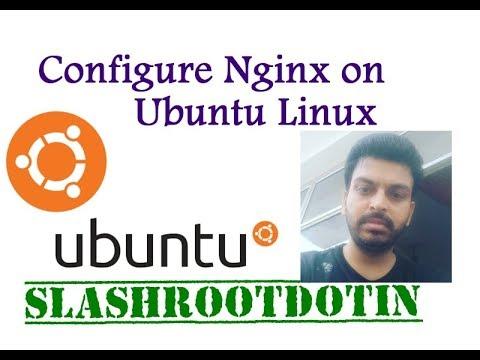 nginx server configuration on Ubuntu Linux