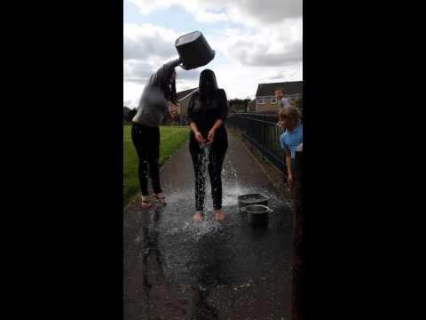 Emma harwood ice bucket challenge!