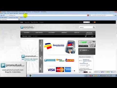 APP World Blackberry: como instalar y crear cuenta para descargar e instalar juegos