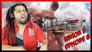 (BIG O'L TITAN!!) Attack On Titan Season 3 Episode 9 Reaction & Review