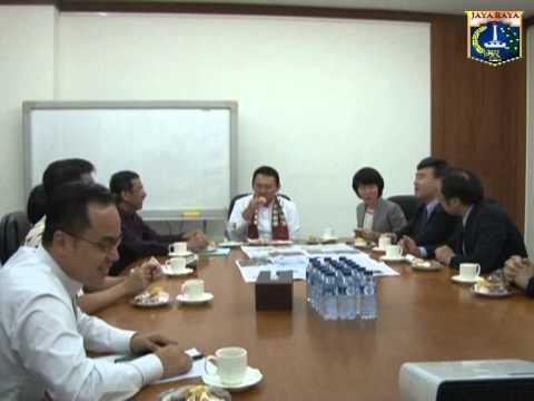 23 Mei 2014 Wagub Basuki T. Purnama Menerima Executive Director Mainichi Shimbun