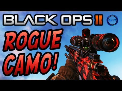 Pack a Punch Camo Black Ops 2 ▶ Black Ops 2 Rogue Camo