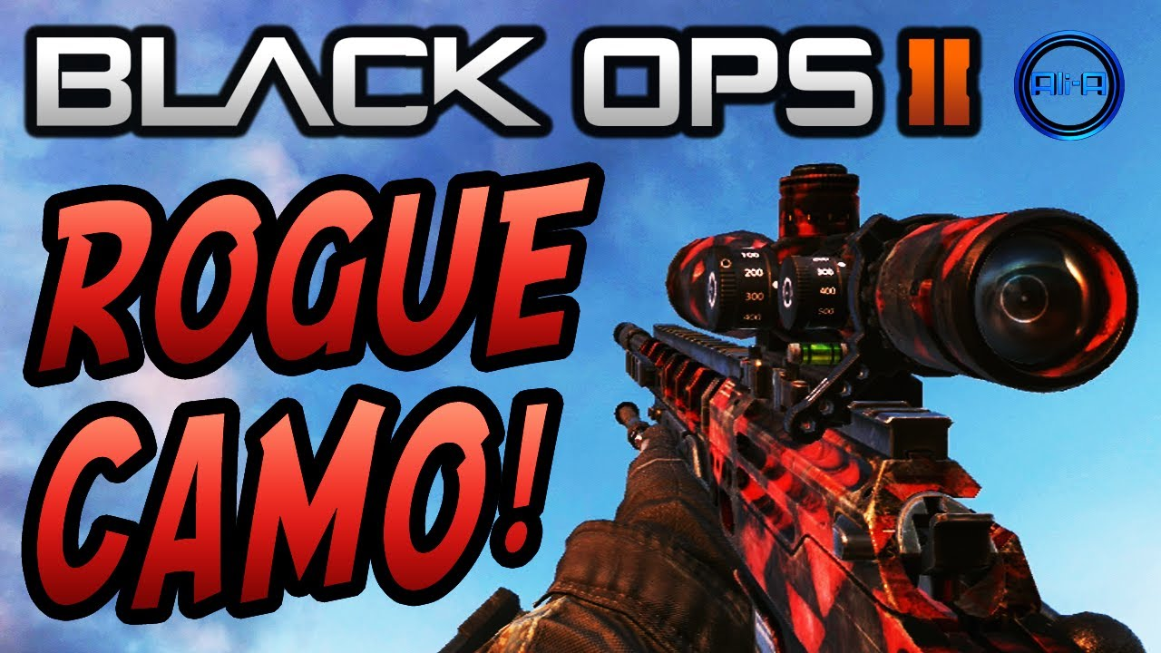Pack a Punch Camo Black Ops 2 Black Ops 2 Rogue Camo Dlc