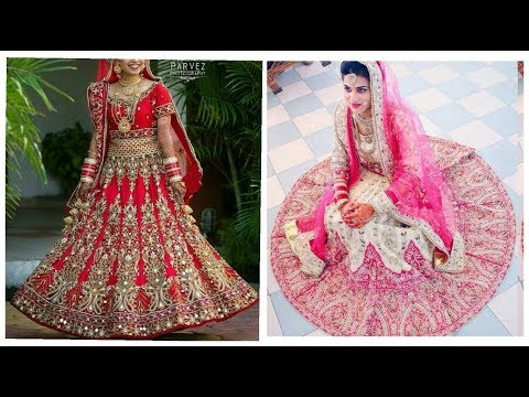Latest Bridal Lehenga choli Designs !! Top Bridal Dresses Designs collection 2018-19