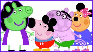 Peppa pig New episodes se Disfraza I Nuevo Disfraza I Hulk Mickey Minnie Disney I New Disguise