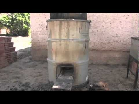 How Build Institutional Rocket Stove Part Save