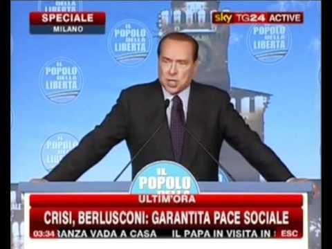 Comizio di Silvio Berlusconi! (