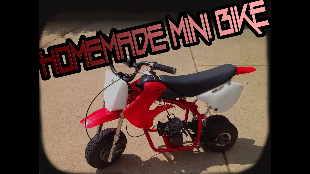 My home made mini dirt bike youtube for What is dirt made out of