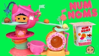 Num Noms Go Go Cafe Playset Track and Donut Wheel Unboxing with Special Editions + Blind Bag