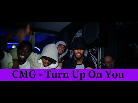 CMG Glockamoley Feat. Litz, Serious Sly & Cruddy - Turn Up On You (Music Video)