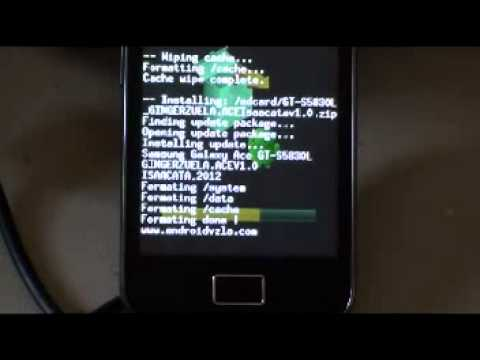Instalar ROM a galaxy ace Tutorial