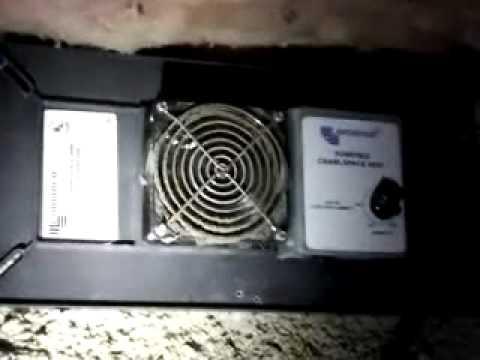 Nashville Tn Home Inspector Foundation Vent Fan Youtube
