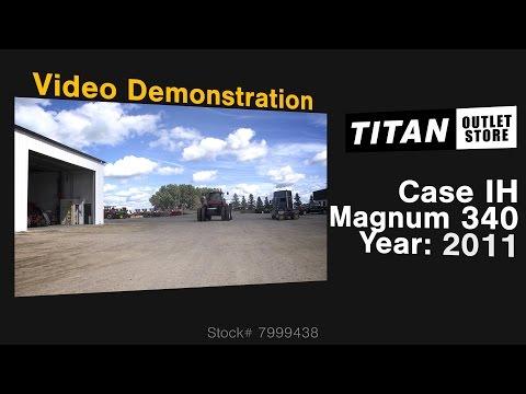 Case IH Magnum MX340, 814 Hr, PS Trans, 3Pt, 5 Remotes Tractor For Sale