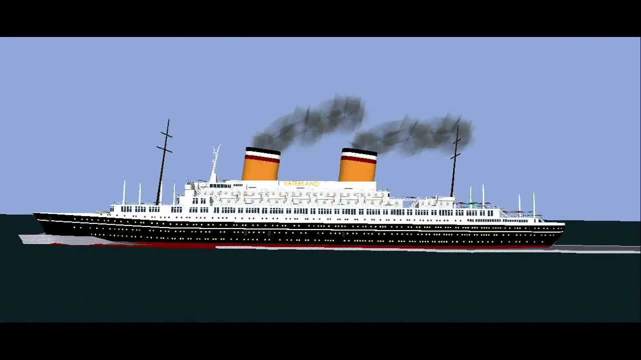 Ss Vaterland 2 In Sketch Up Youtube
