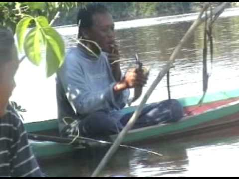 Mancing udang galah di sungai X,WEST BORNEO,mggu 24 mei 2009,budak pontianak yg mncintai hobinya
