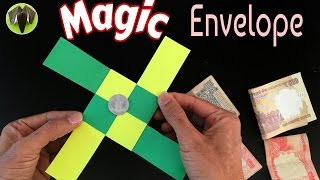 MAGIC ENVELOPE (TRICK) - DIY Tutorial by Paper Folds ❤️