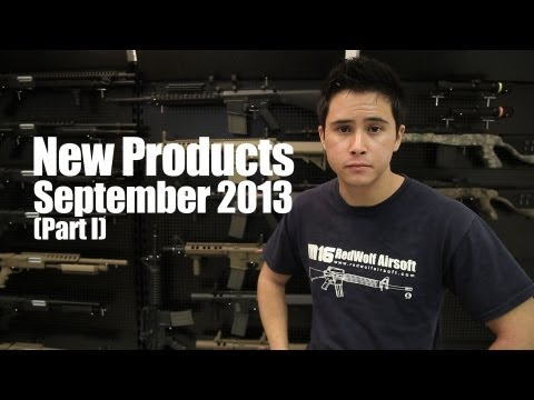 New Products September 2013 (Part I) - RedWolf Airsoft RWTV