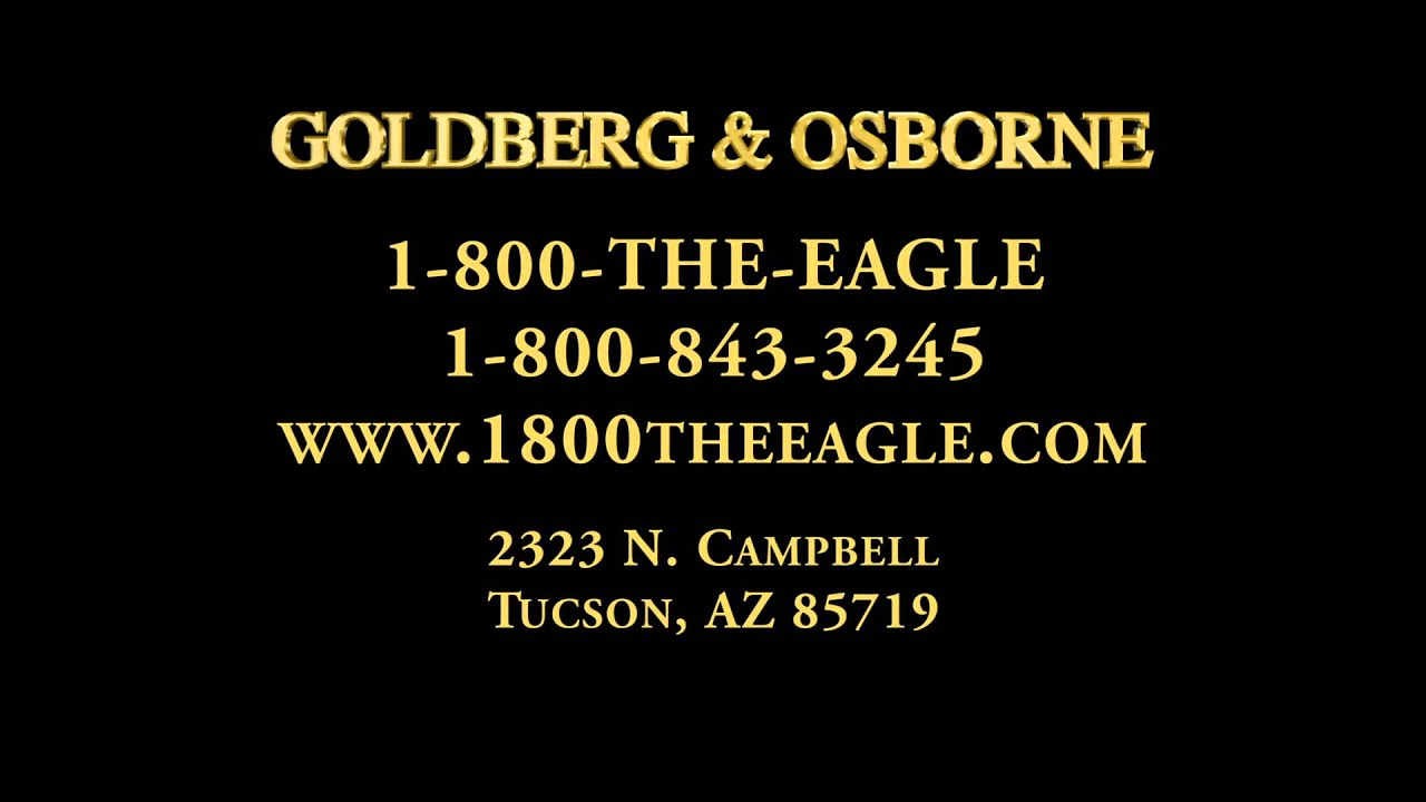 Personal Injury Lawyer Tucson >> Tucson Personal Injury Lawyer | Goldberg and Osborne - YouTube