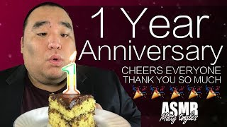[ASMR] HAPPY 1 YEAR ANNIVERSARY (w/Special Guest) | MattyTingles