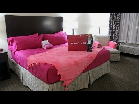 American Girl Doll Hotel Room Package Tour/Details!!!
