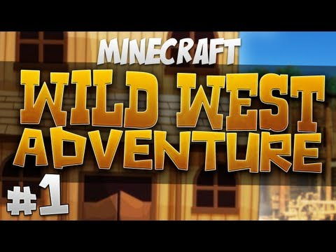 Minecraft – Wild West Adventure Part 1 – Drunk Horseriding – 2MineCraft.com