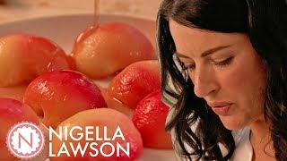 Nigella's Poached Peaches | Forever Summer With Nigella