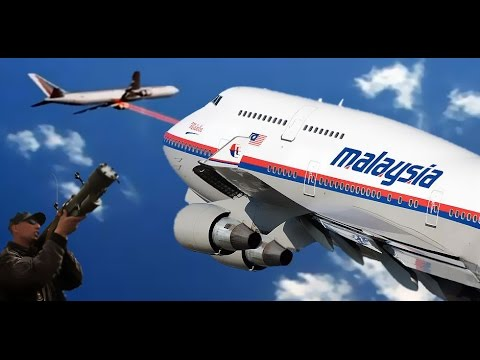 CV3D | Malaysia Airlines MH17 Boeing 777 shot down over Ukraine