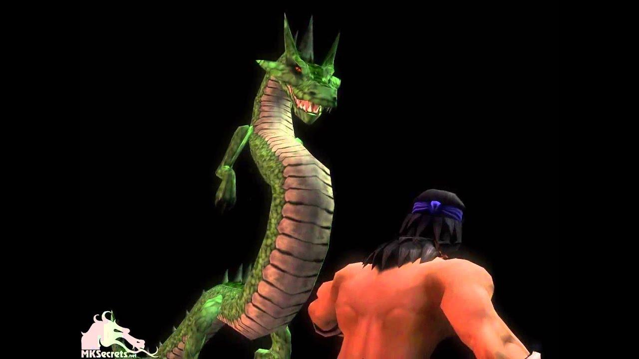 Mortal kombat liu kang dragon