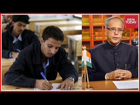 Pranab Mukherjee Signs Ordinance To Delay NEET Passed By Cabinet