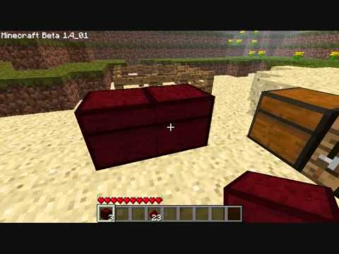 Minecraft - Redstone Chest mod by erikthepanda (Part 2)