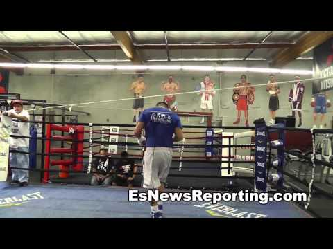 marcos maidana very powerful in camp for mayweather rematch - EsNews