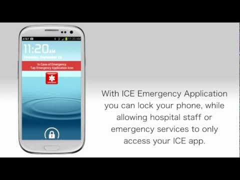 In Case of Emergency (ICE) screenshot for Android