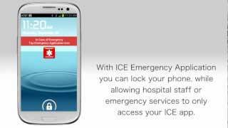 In Case of Emergency (ICE) app - Android