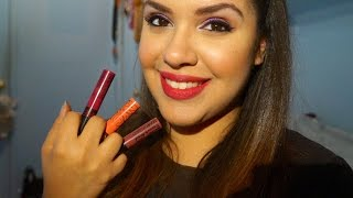 NYC smooch proof Liquid Lip stain Demo/Review