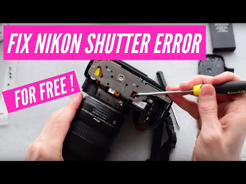 How to fix the Nikon DSLR