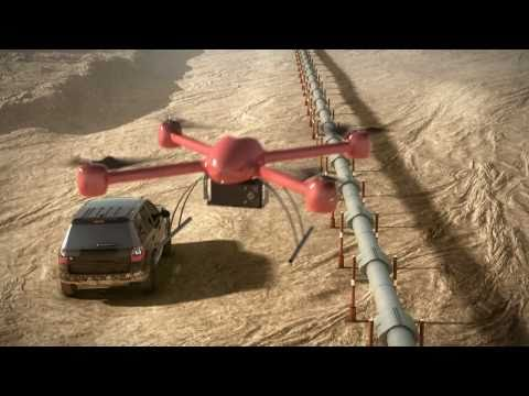 AEROSEEKER Security UAV - Unmanned Aerial Vehicle