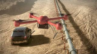 AEROSEEKER Security UAV - Unmanned Aerial Vehicle.mp4