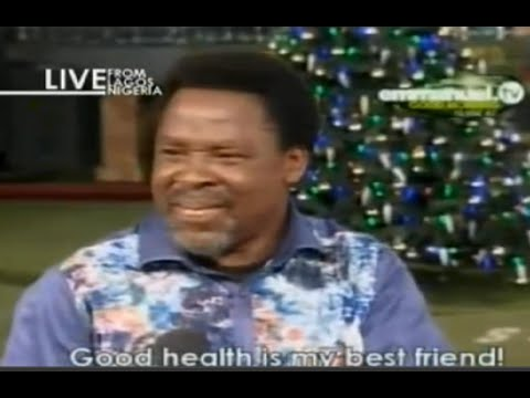 Scoan 04 01 15: Water Therapy: Discovering Your Real Value By Tb Joshua. Emmanuel Tv video