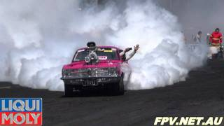SUMMERNATS 25 NATIONAL BURNOUT MASTERS HIGHLIGHTS