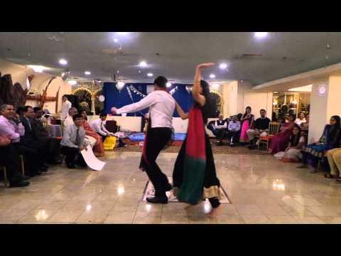25th wedding anniversary bollywood performance