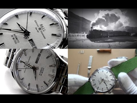 The Truly Unique History Of Ball Watches & Trainmaster Eternity Automatic Watch Review NM2080D