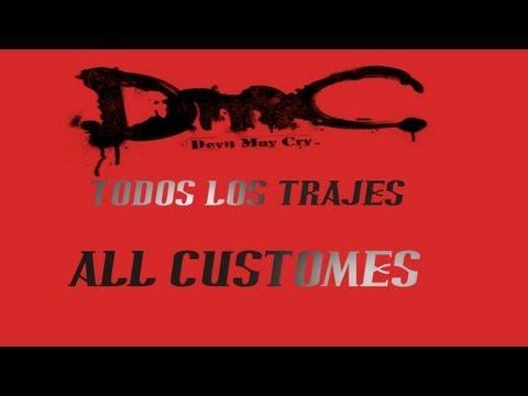 DMC | All customes | Todos los trajes
