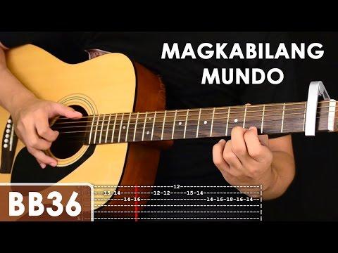 Magkabilang Mundo - Jireh Lim Guitar Tutorial (includes Chords, Strumming, Adlib - Solo Lesson) video